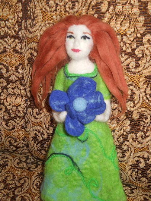 Валеная кукла